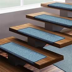 Tapis De Marches D Escalier Bleu Sabang Lot De 15 Pi 232 Ces