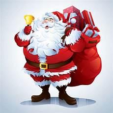 free santa claus vector illustration collection free