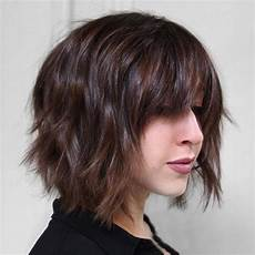 30 best short bob haircuts with bangs and layered bob hairstyles page 2 hairstyles