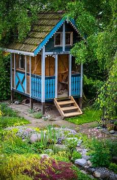 Gartenhaus Fuer Unsere Kinder Selbst Gebaut Garden