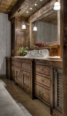 Rustic Bathroom Ideas 35 Best Rustic Bathroom Vanity Ideas And Designs For 2020
