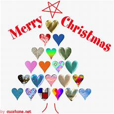 merry christmas with love tree heart images cuorhome net