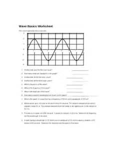 physical science basics waves worksheet 13215 w136 wave calculations worksheet name date class physical science wave calculations speed of a