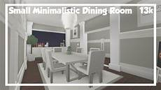 Bloxburg House Bathroom Ideas by Bloxburg Small Minimalistic Dining Room Speedbuild