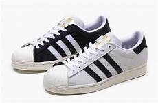 this adidas superstar comes with a split colored