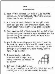 decimals word problems worksheets 6th grade 7561 6th grade math word problems