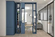 cloison vitree intérieure 89335 verriere entre cuisine et salon