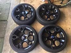 ford zetec s mk7 black alloys 17 quot 4x108 in