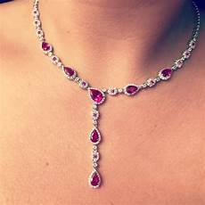 july birthstone ruby gift your july gal with this ruby crystal necklace beautiful and