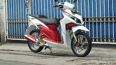 Vario Techno Modif by Ngecat Motor Honda Vario Techno 110 Modifikasi Minimalist