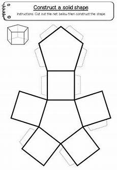 geometry nets worksheets 823 shape nets 3d 15 printable net templates maths geometry tpt