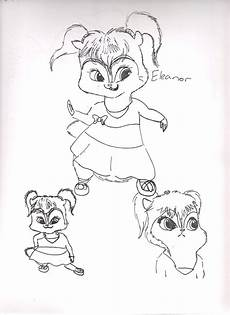 free printable chipettes coloring pages for