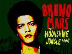 24 7 bruno mars moonshine jungle tour set list