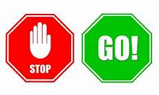 Stop And Go Signs Lesson 28 I Can Be Obedient Lds