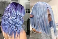 periwinkle hair color trend popsugar beauty