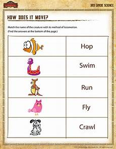 free science worksheets for grade 3 12549 how does it move view 3rd grade science worksheets
