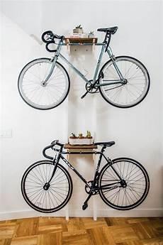 Apartment Bike Rack by Diy Bicycle Rack Built For Two Home Items Diy Bike