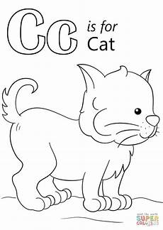 letter c for cat worksheets 24045 letter c is for cat coloring page from letter c category select from 27001 printable crafts of