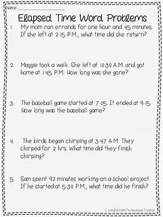 maths worksheets on time word problems 3439 elapsed time activities and a free with images time worksheets math time elapsed