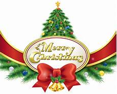 merry christmas with tree and bow png clipart image gallery yopriceville high quality images