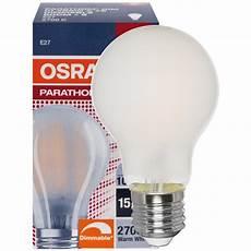 Osram Led Parathom E27 - osram led filament le parathom advanced retrofit