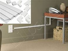 wall wiring wall conduit channel plastic wire molding raceway cable wiremold management kit ebay