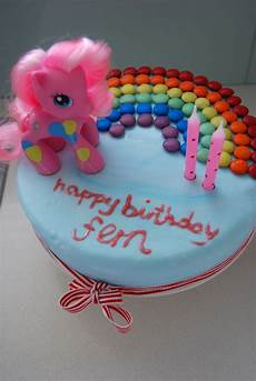 bubby makes three my pony birthday cake