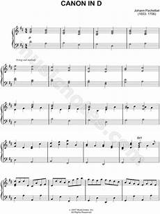johann pachelbel quot canon in d quot sheet music piano solo in