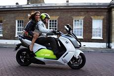 olympic skater experiences bmw electric scooter
