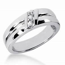 18k gold men s diamond wedding ring 0 18ct
