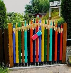 gartenzaun kreativ gestalten puertas de jard 237 n con decoraciones chulas de verdad