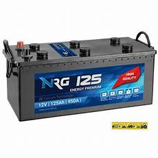 lkw batterie 125ah 950a en starterbatterie heavy duty