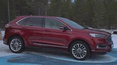 ford edge versions 2019 ford edge st line and vignale versions
