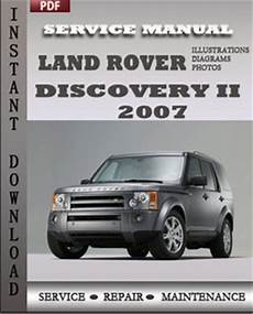 free service manuals online 2007 land rover discovery electronic valve timing land rover repair service manual pdf