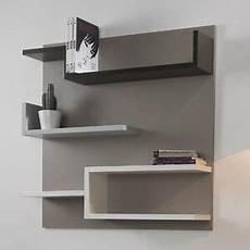 mensole bianche laccate libreria moderna con schienale myshelf mensole cameretta