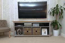 Hemnes Console Table Restyled To Tv Unit Ikea Hackers