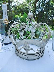 silver crown metal wedding table decoration or jubilee centre piece ebay wedding