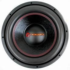 q power 15 inch 4000 watt deluxe subwoofer dvc car