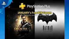 Free Playstation Plus For January 2018 Playstation
