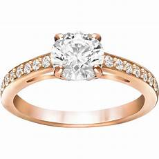 bague swarovski attract attract czwh ros bague dor 233 e or