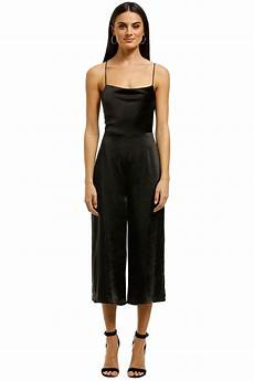 third form of say final say bias jumpsuit black by third form for hire