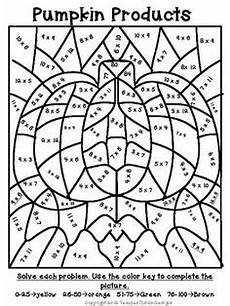 thanksgiving multiplication coloring worksheets grade 3 4760 color by number division for alaina math coloring worksheets math worksheets