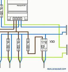 schaltplan fi schalter anschluss wiring diagram