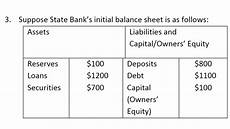 how to calculate leverage ratio from balance sheet solved a what is state bank s leverage ratio b suppose chegg com