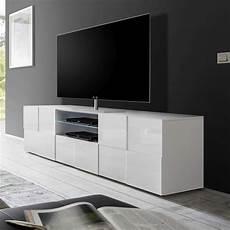 Grand Meuble Tv Blanc Laqué Meuble Tv Blanc Laqu 233 Brillant Sofamobili
