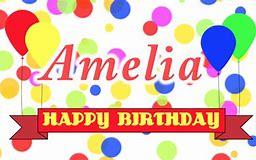 Image result for happy birthday amelia