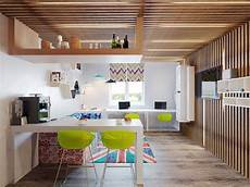 two cheerful apartments with creative storage and splashes of two cheerful apartments with creative storage and splashes
