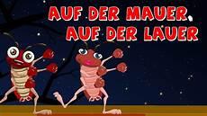 Kinderlieder Auf Der Mauer Auf - auf der mauer auf der lauer kinderlieder deutch german