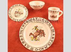 Buy Westward Ho 4 pc Rodeo Dinnerware Sets Western True West