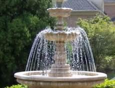 comment installer une fontaine de jardin fontaine de jardin installer une fontaine dans